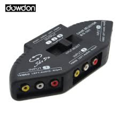 DIGITAL MULTI RCA 1TO 3  VIDEO/SOUND TIMH 8,40