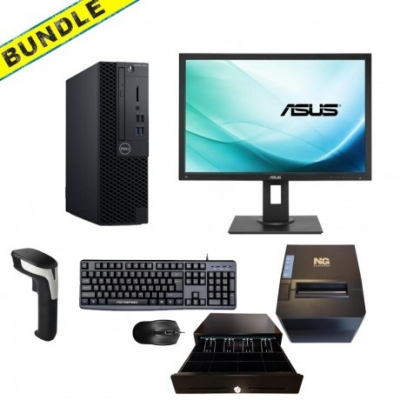 "BUNDLE REF DELL 3060 SFF i5 8500 + ASUS 24"" BE24A+BARCODE+SET+ΘΕΡΜΙΚΟΣ ΤΙΜΗ:987,66"