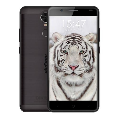 "ULEFONE Smartphone Tiger, 5.5"" HD, 3G, 2GB/16GB, Quad Core, Black  TIMH 121,78"