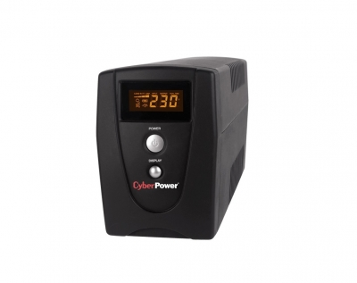 CYBERPOWER UPS VALUE800ELCD Line Interactive LCD 800VA Schuko