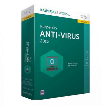 Kaspersky Anti-Virus Τιμή : 22,00